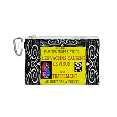 Vaccine  Story Mrtacpans Canvas Cosmetic Bag (s)