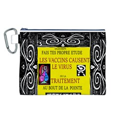 Vaccine  Story Mrtacpans Canvas Cosmetic Bag (l)