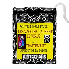 Vaccine  Story Mrtacpans Drawstring Pouches (xxl)