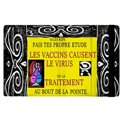 Vaccine  Story Mrtacpans Apple Ipad Pro 9 7   Flip Case