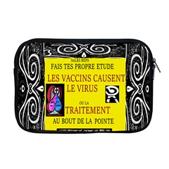 Vaccine  Story Mrtacpans Apple Macbook Pro 17  Zipper Case