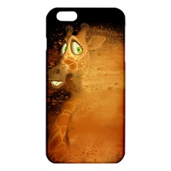 The Funny, Speed Giraffe Iphone 6 Plus/6s Plus Tpu Case