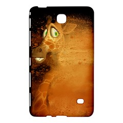 The Funny, Speed Giraffe Samsung Galaxy Tab 4 (8 ) Hardshell Case