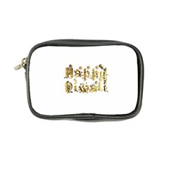 Happy Diwali Gold Golden Stars Star Festival Of Lights Deepavali Typography Coin Purse