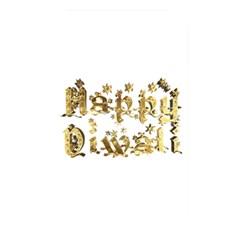 Happy Diwali Gold Golden Stars Star Festival Of Lights Deepavali Typography Memory Card Reader
