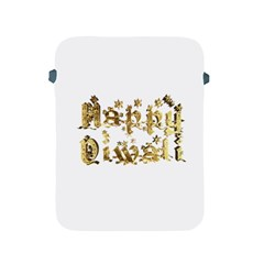 Happy Diwali Gold Golden Stars Star Festival Of Lights Deepavali Typography Apple Ipad 2/3/4 Protective Soft Cases