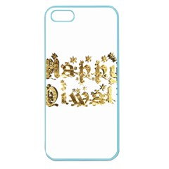 Happy Diwali Gold Golden Stars Star Festival Of Lights Deepavali Typography Apple Seamless Iphone 5 Case (color)