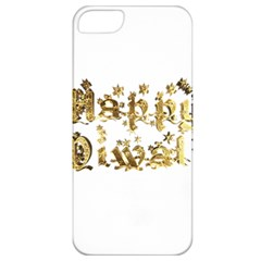 Happy Diwali Gold Golden Stars Star Festival Of Lights Deepavali Typography Apple Iphone 5 Classic Hardshell Case