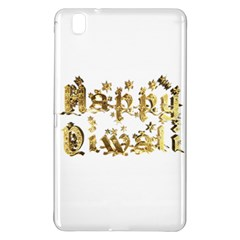 Happy Diwali Gold Golden Stars Star Festival Of Lights Deepavali Typography Samsung Galaxy Tab Pro 8 4 Hardshell Case