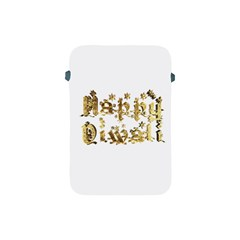 Happy Diwali Gold Golden Stars Star Festival Of Lights Deepavali Typography Apple Ipad Mini Protective Soft Cases