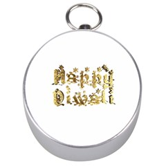 Happy Diwali Gold Golden Stars Star Festival Of Lights Deepavali Typography Silver Compasses