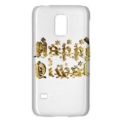 Happy Diwali Gold Golden Stars Star Festival Of Lights Deepavali Typography Galaxy S5 Mini