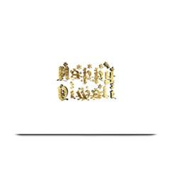 Happy Diwali Gold Golden Stars Star Festival Of Lights Deepavali Typography Plate Mats