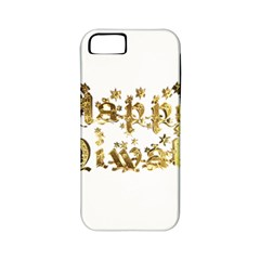 Happy Diwali Gold Golden Stars Star Festival Of Lights Deepavali Typography Apple Iphone 5 Classic Hardshell Case (pc+silicone)