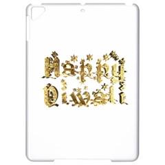 Happy Diwali Gold Golden Stars Star Festival Of Lights Deepavali Typography Apple Ipad Pro 9 7   Hardshell Case