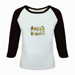 Happy Diwali Gold Golden Stars Star Festival Of Lights Deepavali Typography Kids Baseball Jerseys