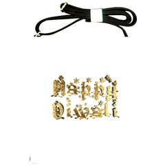 Happy Diwali Gold Golden Stars Star Festival Of Lights Deepavali Typography Shoulder Sling Bags