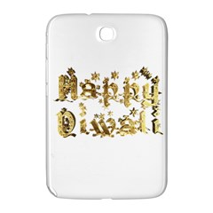 Happy Diwali Gold Golden Stars Star Festival Of Lights Deepavali Typography Samsung Galaxy Note 8 0 N5100 Hardshell Case