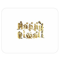 Happy Diwali Gold Golden Stars Star Festival Of Lights Deepavali Typography Double Sided Flano Blanket (medium)