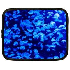 Blue Jellyfish Netbook Case (xxl)