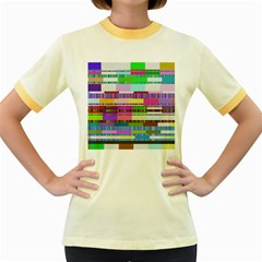 Error Women s Fitted Ringer T Shirts