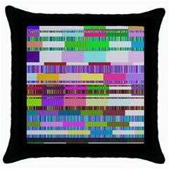 Error Throw Pillow Case (black)