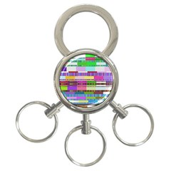 Error 3 Ring Key Chains