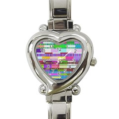 Error Heart Italian Charm Watch