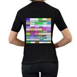 Error Women s T-Shirt (Black) (Two Sided) Back