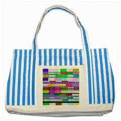 Error Striped Blue Tote Bag