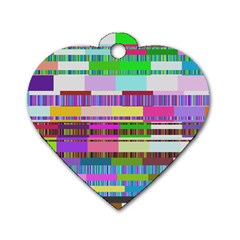 Error Dog Tag Heart (two Sides)