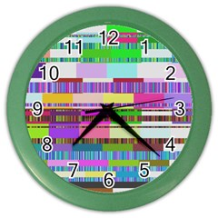 Error Color Wall Clocks