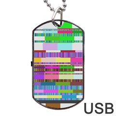 Error Dog Tag Usb Flash (two Sides)
