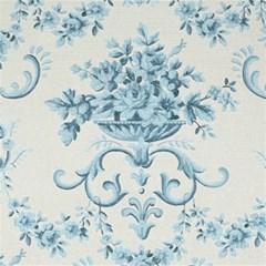 Blue Vintage Floral  Magic Photo Cubes