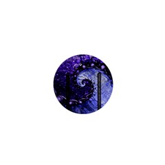 Beautiful Violet Spiral For Nocturne Of Scorpio 1  Mini Buttons