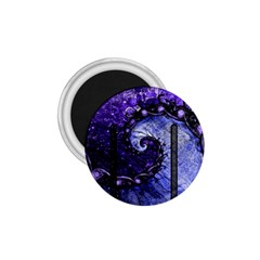 Beautiful Violet Spiral For Nocturne Of Scorpio 1 75  Magnets