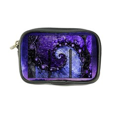 Beautiful Violet Spiral For Nocturne Of Scorpio Coin Purse