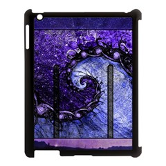 Beautiful Violet Spiral For Nocturne Of Scorpio Apple Ipad 3/4 Case (black)
