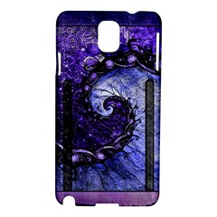 Beautiful Violet Spiral For Nocturne Of Scorpio Samsung Galaxy Note 3 N9005 Hardshell Case