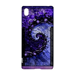 Beautiful Violet Spiral For Nocturne Of Scorpio Sony Xperia Z3+