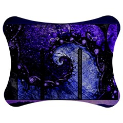 Beautiful Violet Spiral For Nocturne Of Scorpio Jigsaw Puzzle Photo Stand (bow)