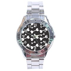 Bones Bg Stainless Steel Analogue Watch