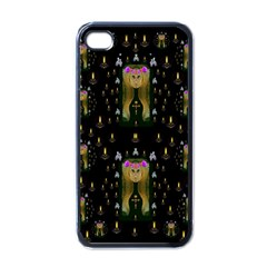 Queen In The Darkest Of Nights Apple Iphone 4 Case (black)