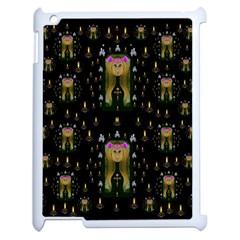Queen In The Darkest Of Nights Apple Ipad 2 Case (white)