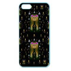 Queen In The Darkest Of Nights Apple Seamless Iphone 5 Case (color)