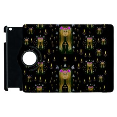 Queen In The Darkest Of Nights Apple Ipad 2 Flip 360 Case