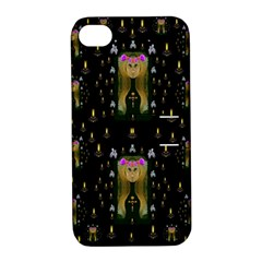 Queen In The Darkest Of Nights Apple Iphone 4/4s Hardshell Case With Stand