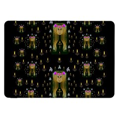 Queen In The Darkest Of Nights Samsung Galaxy Tab 8 9  P7300 Flip Case
