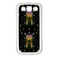Queen In The Darkest Of Nights Samsung Galaxy S3 Back Case (white)