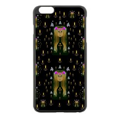 Queen In The Darkest Of Nights Apple Iphone 6 Plus/6s Plus Black Enamel Case